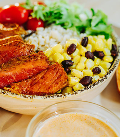 Mexican Burrito Beef Bowl